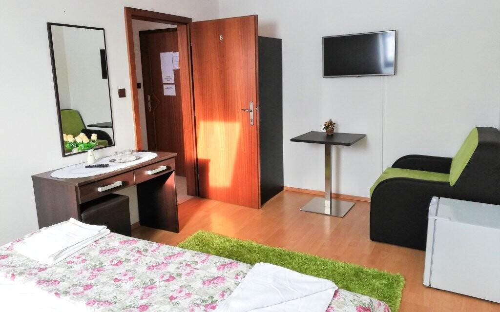 Ubytovat se můžete i v apartmánu