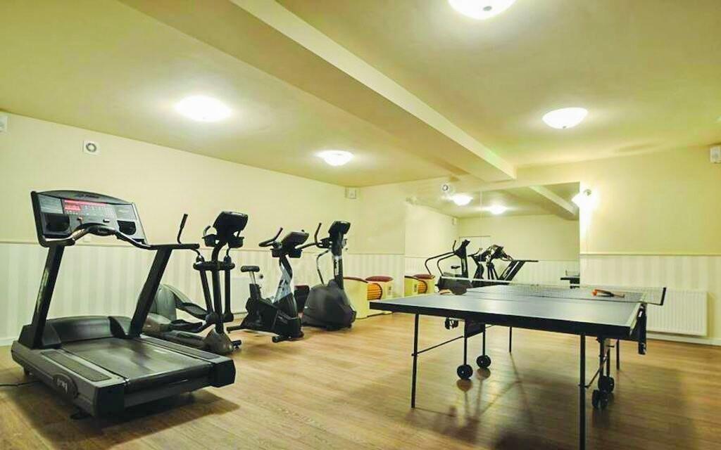 Kdykoliv můžete zavítat do hotelového fitness