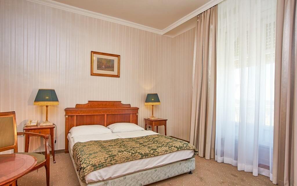 Ubytováni budete v pohodlných pokojích Standard