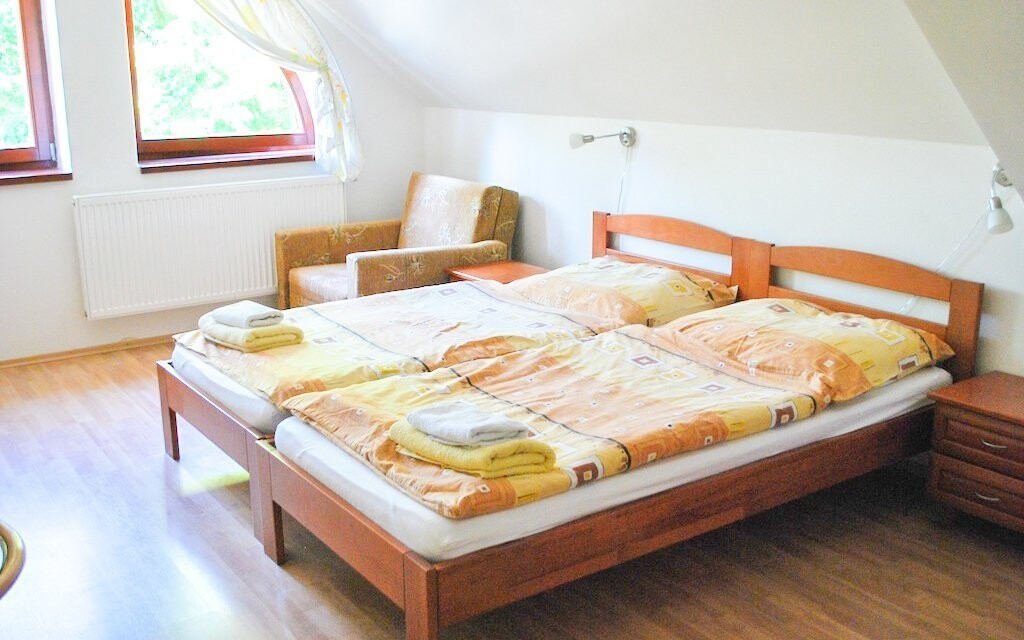 Komfortne zariadené izby pre pohodlie hostí