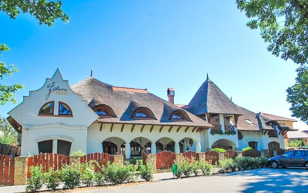 Penzión Žitava pripomína kedysi typickú architektúru
