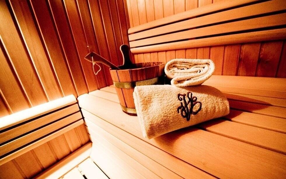 K dispozici je i sauna
