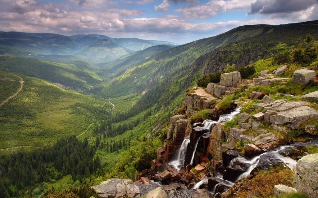 Vydejte se k Pančavským nebo Mumlavským vodopádům