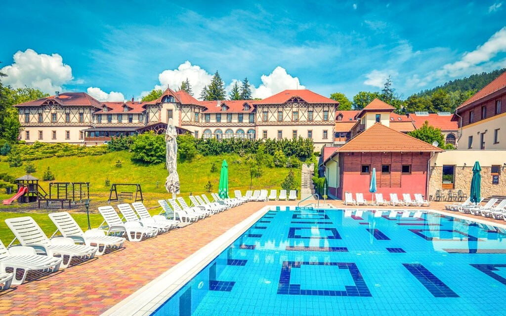 Erzsébet Park Hotel *** Superior, hotel a bazén, Maďarsko