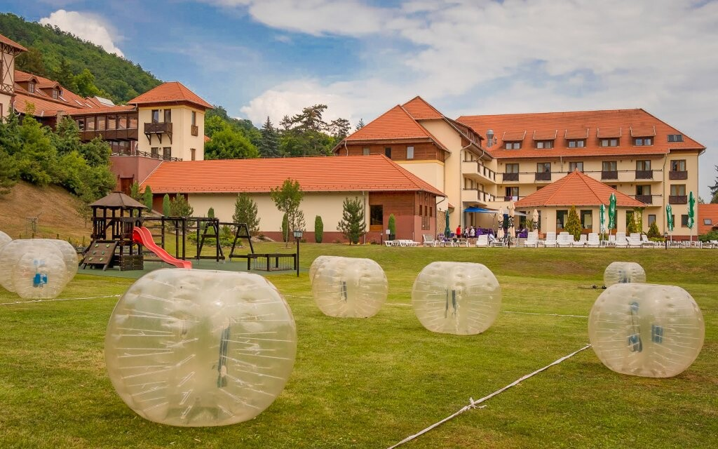 Detské ihrisko pri Erzsébet Park Hotel *** Maďarsko