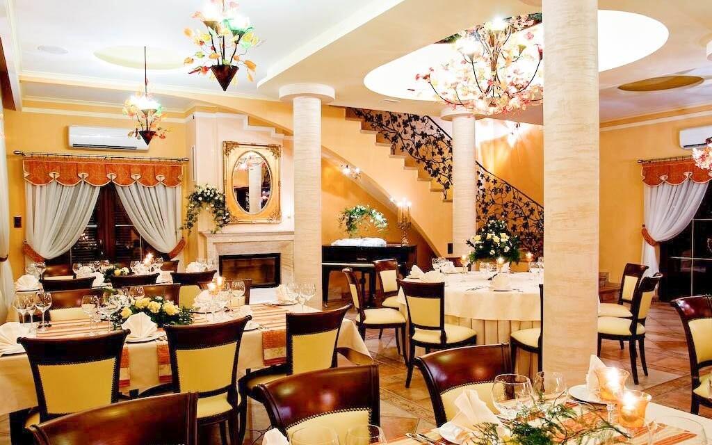 Najíte se v restauraci s královskou atmosférou