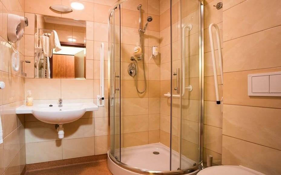 Koupelna pro váš komfortní pobyt