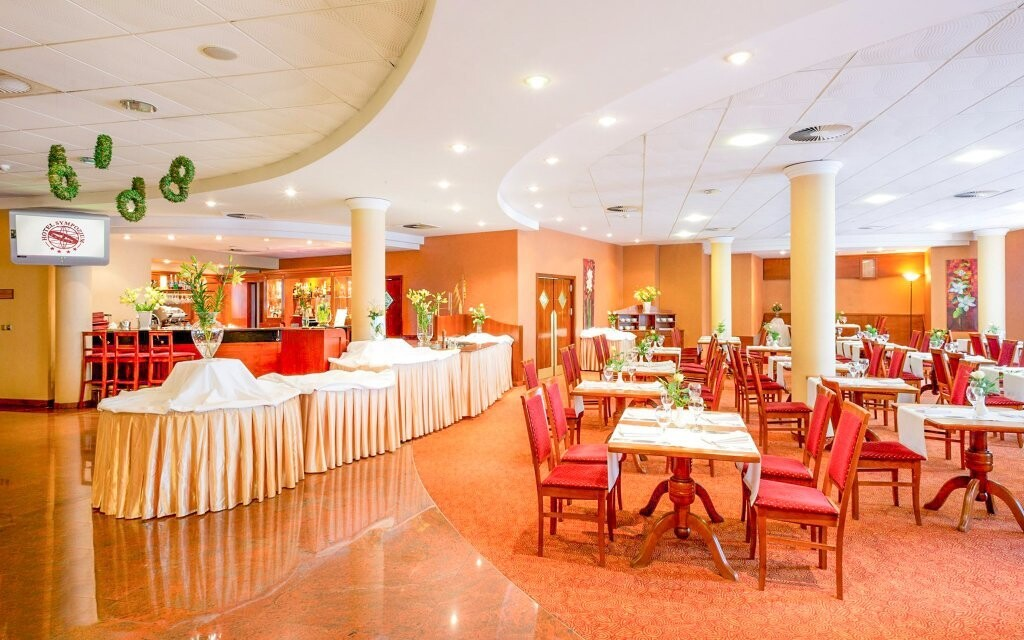 Štýlová hotelová reštaurácia