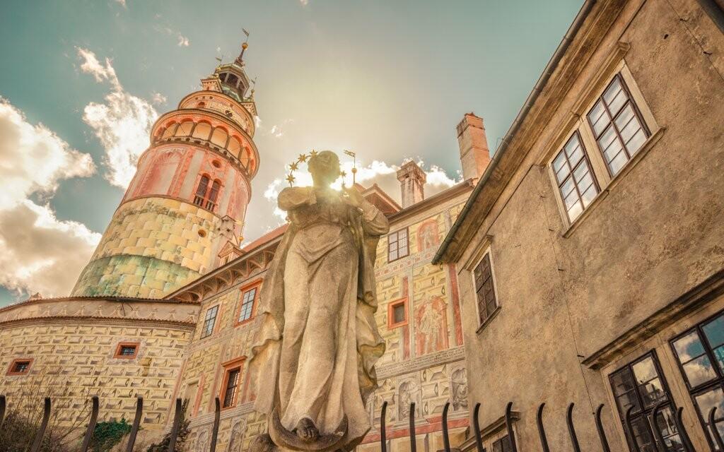 Zámek Český Krumlov, památka UNESCO, jižní Čechy
