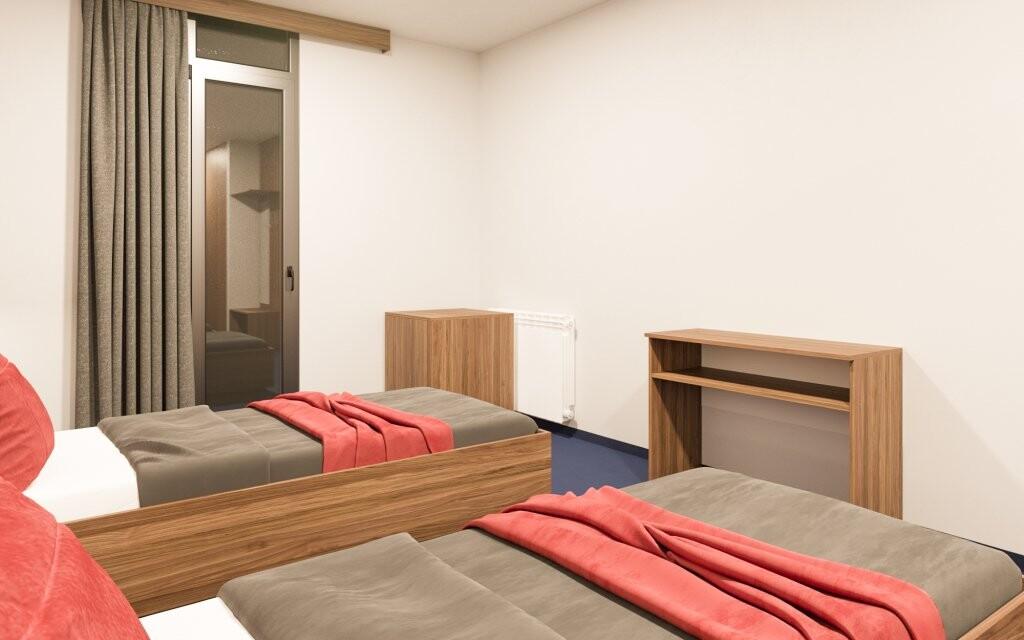 Pohodlné izby, Hotel Zagreb, Karlobag