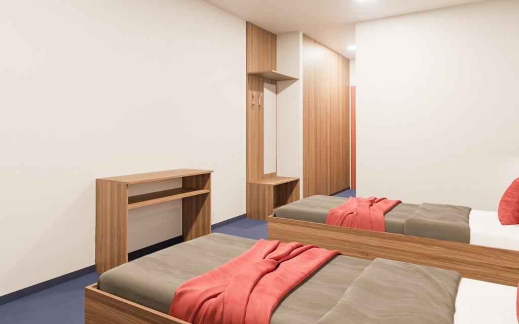 Pohodlné izby, Hotel Zagreb Karlobag