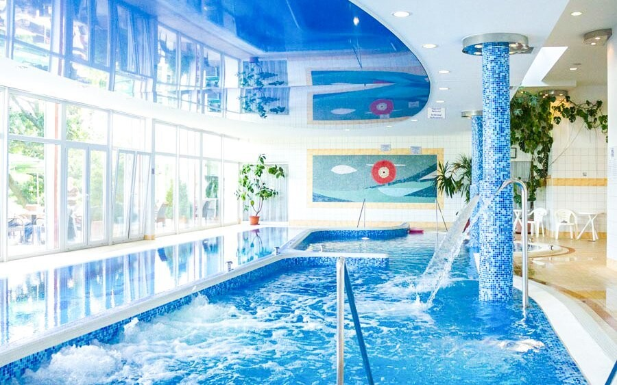 Luxusní wellness centrum vás uchvátí