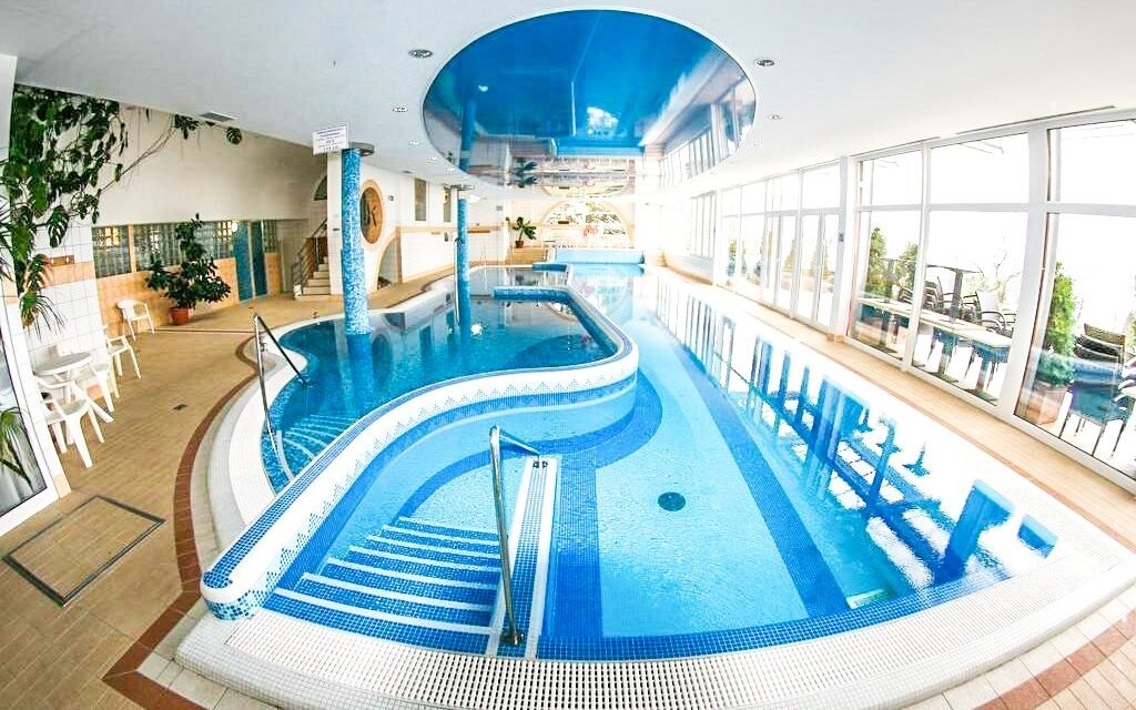 Na výběr máte bazény i sauny