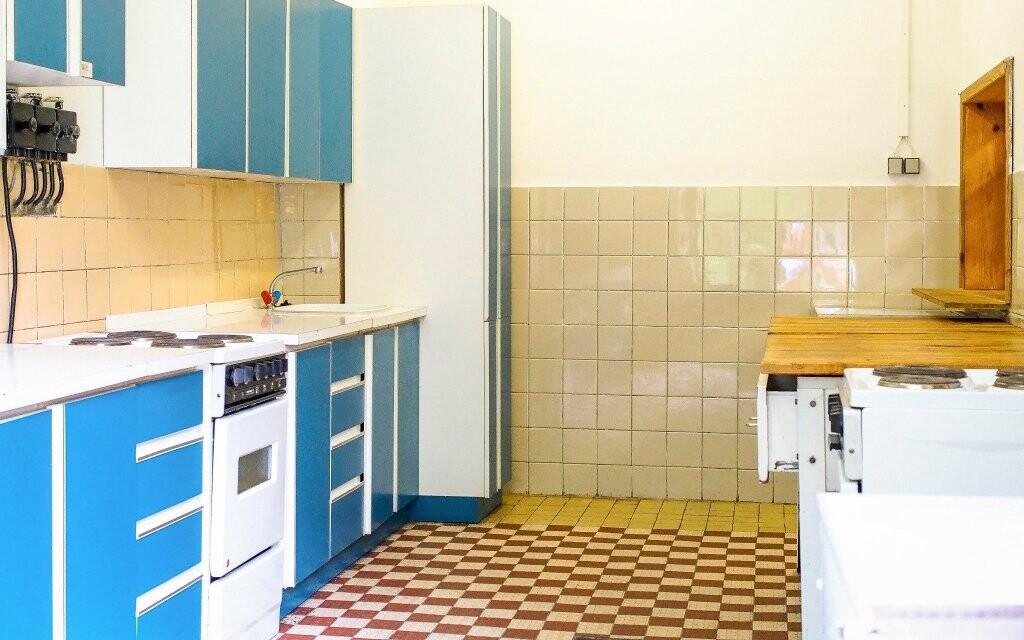 K dispozici budete mít společnou kuchyni