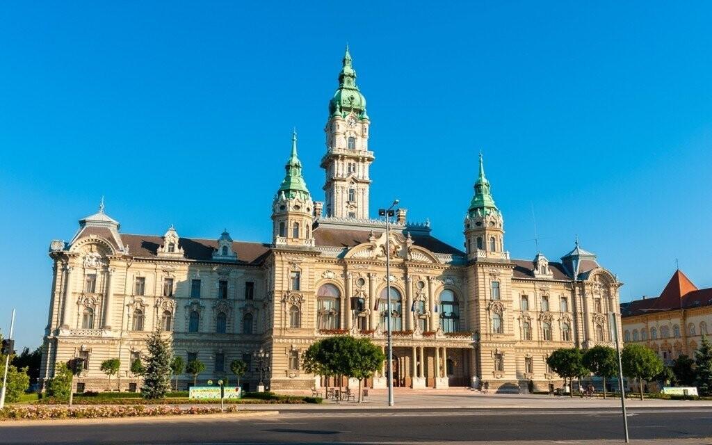 Historické mesto Györ v Maďarsku