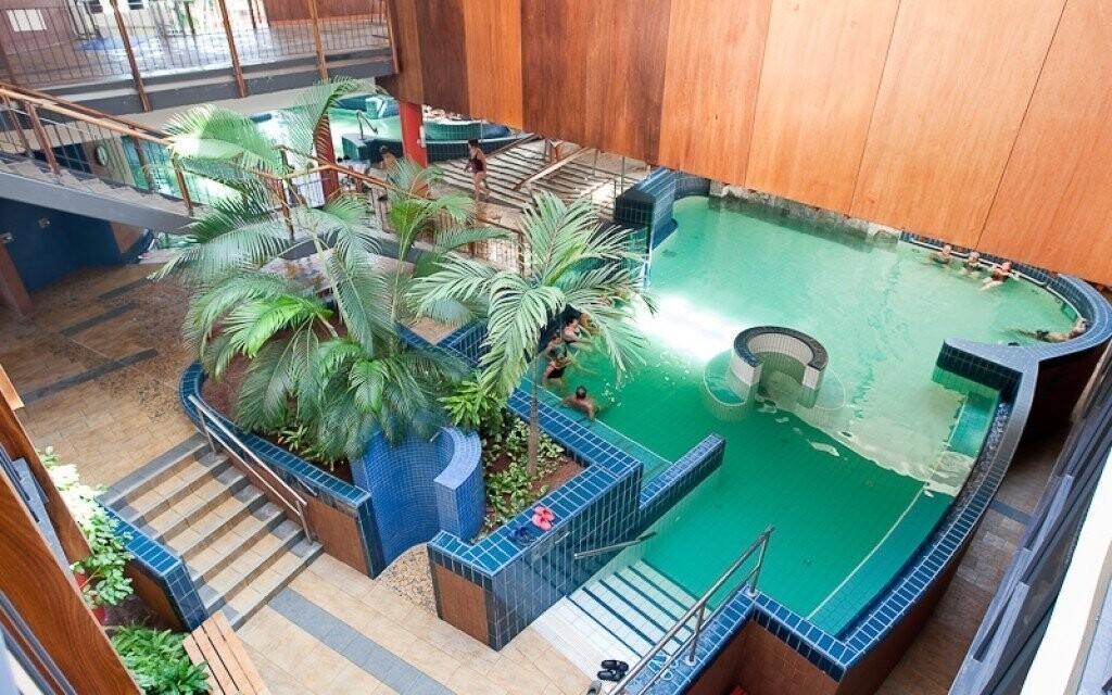 Obľúbené kúpele Rába Quelle Györ v Maďarsku
