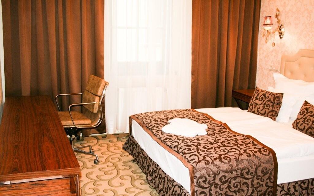 Izba s dvojlôžkovou posteľou v Hoteli Capitulum Györ