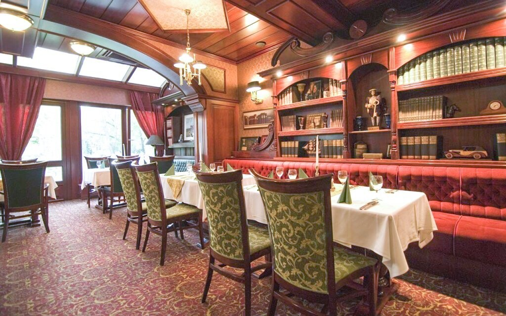 Restaurace v Hotelu Golden Ball Club **** Györ Maďarsko