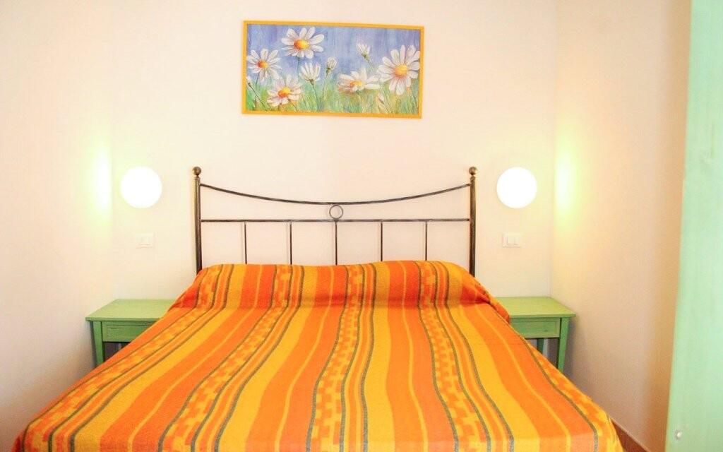 Ubytováni budete v apartmánu pro čtyři osoby