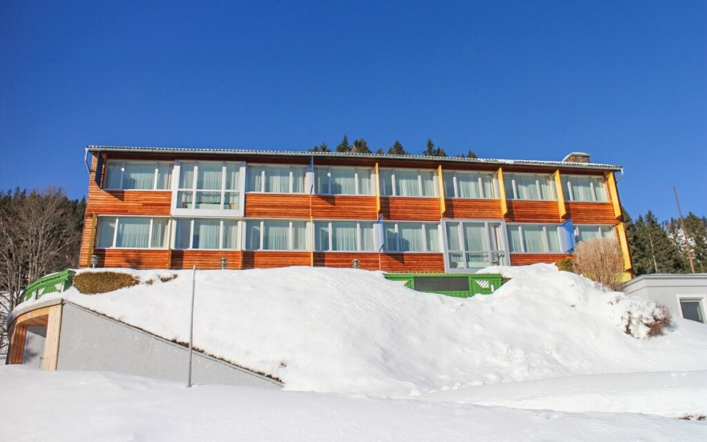 Hotel Sonnhof Hohentauern leží v 1 300 m n. m.
