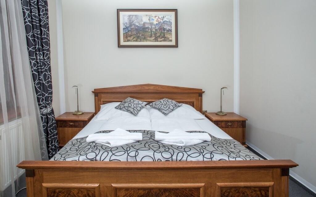Ubytováni budete v komfortních pokojích