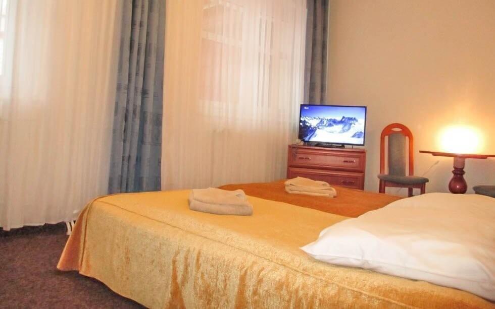 V pokojích si užijete maximální komfort