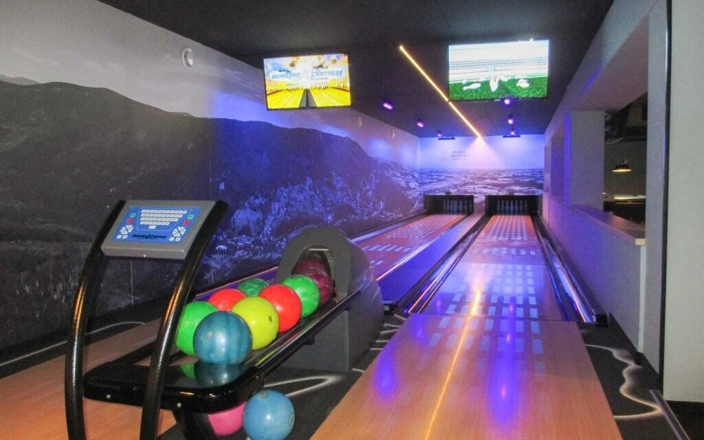 V hotelu si můžete zahrát bowling