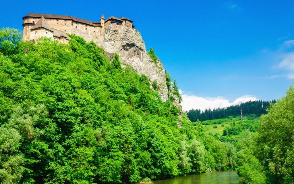 Oravský hrad, památky Orava Slovensko
