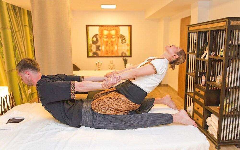 Zkuste thajskou masáž