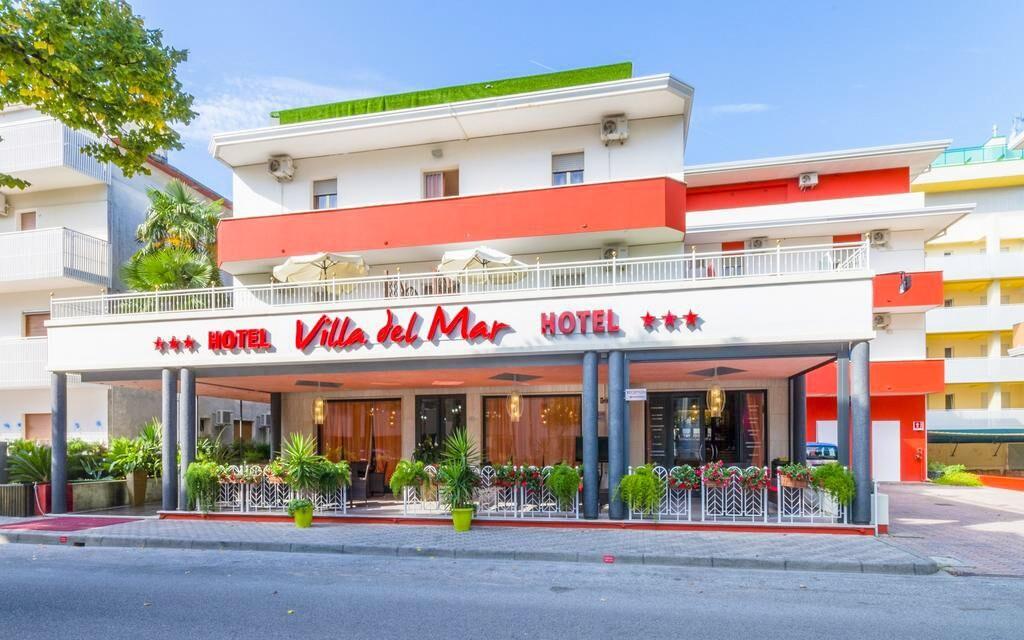 Hotel Villa del Mar *** má pro hosty soukromou pláž