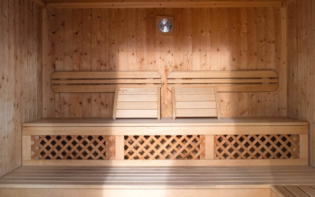 Najdete tu saunu i tureckou lázeň