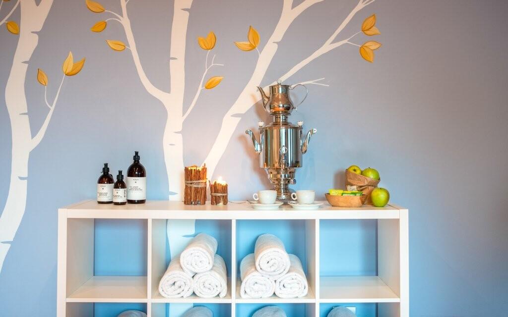 K wellness patří i stylová relaxační místnost