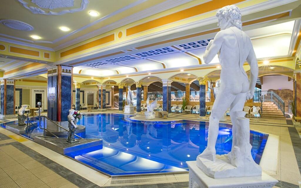 Termálne kúpele Aphrodite v Rajeckých Tepliciach sú obľúbené