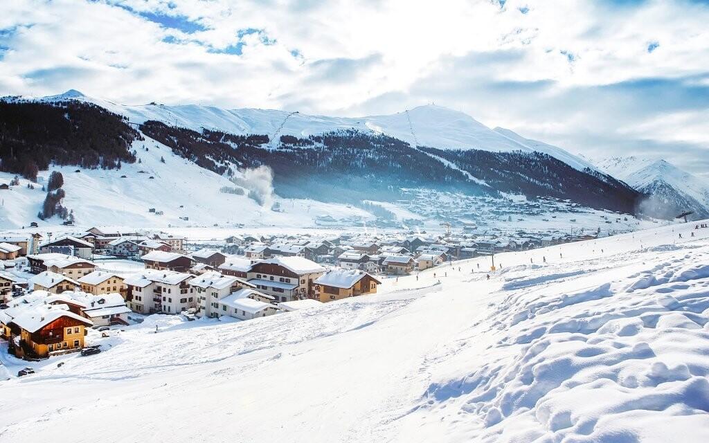 Italské horské vesnice jsou vskutku malebné