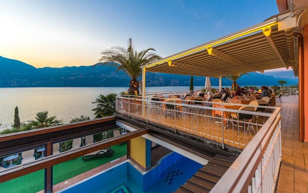 Hotel Eden stojí u jezera Lago di Garda