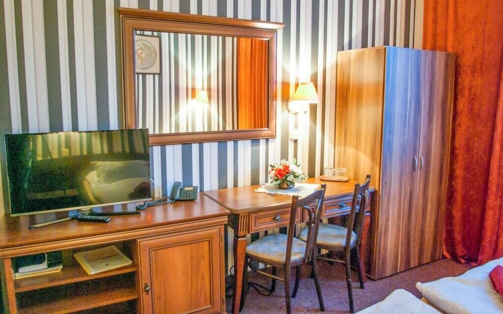 Ubytovaní budete v izbách Klasik