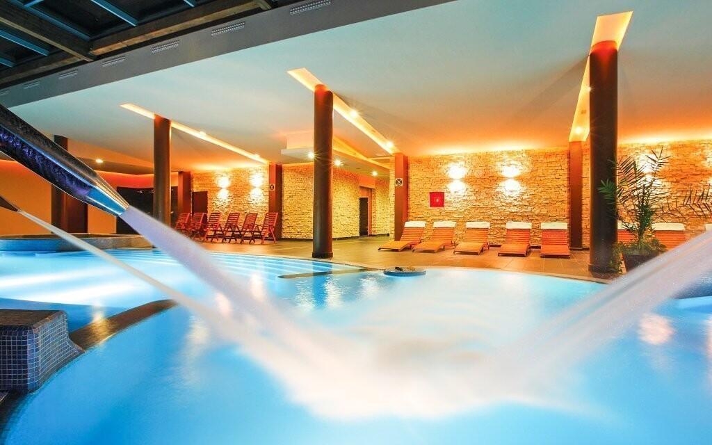 Luxusní wellness centrum v Anna Grand Hotelu **** v Maďarsku