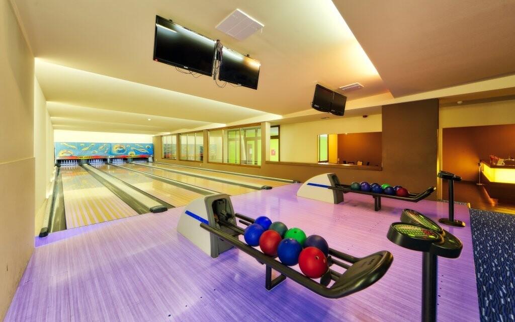 Bowlingová dráha v Anna Grand Hotelu **** v Maďarsku