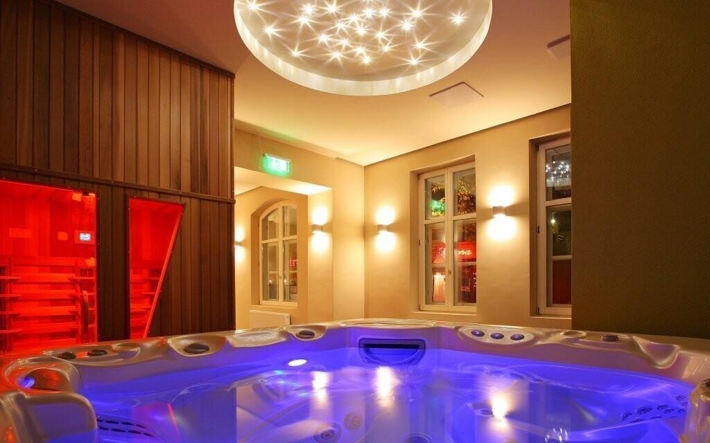 Relaxujte v moderním wellness v Anna Grand Hotelu ****