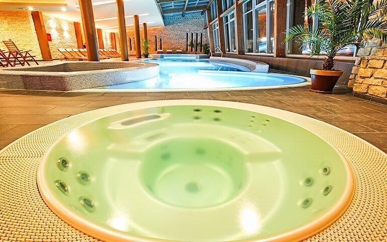 Wellness centrum v Anna Grand Hotelu **** v Maďarsko