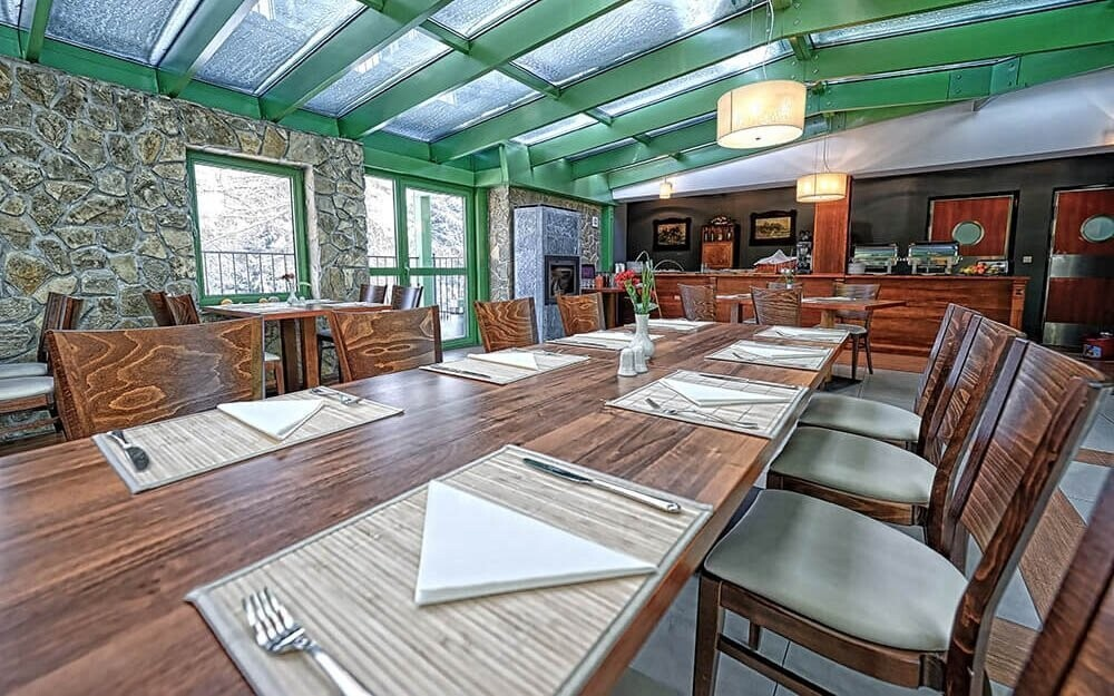Polská kuchyně v Hotelu Modrzewiówka Krakov Polsko