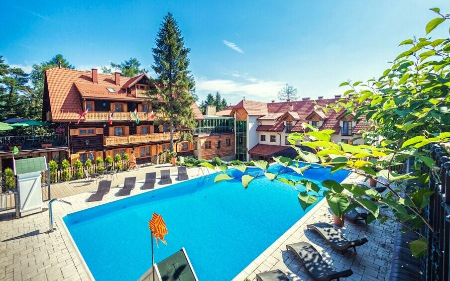 Modrzewiowka Hotel *** Lackorona u Krakova, Polsko