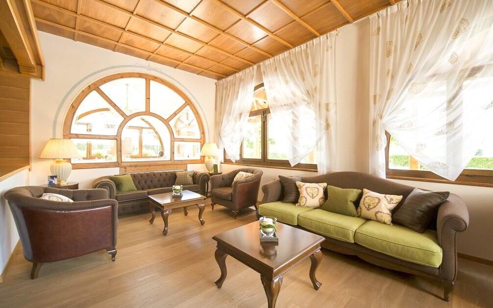 Interiéry hotelu vytváří pohodovou atmosféru