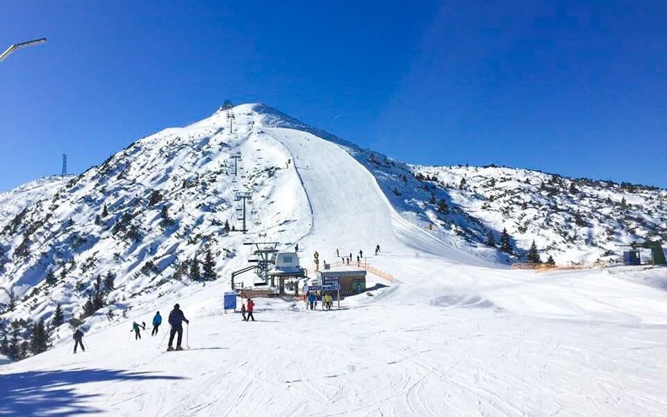 Ideální lokalita pro zimní sporty