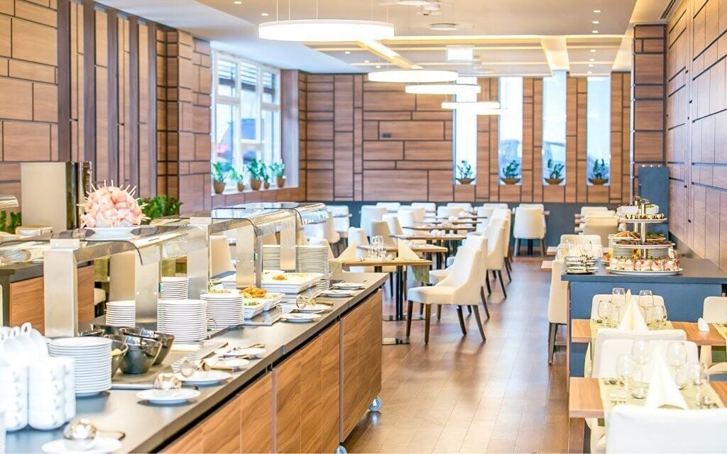 Restaurace v Bonvital Wellness & Gastro Hotelu ****