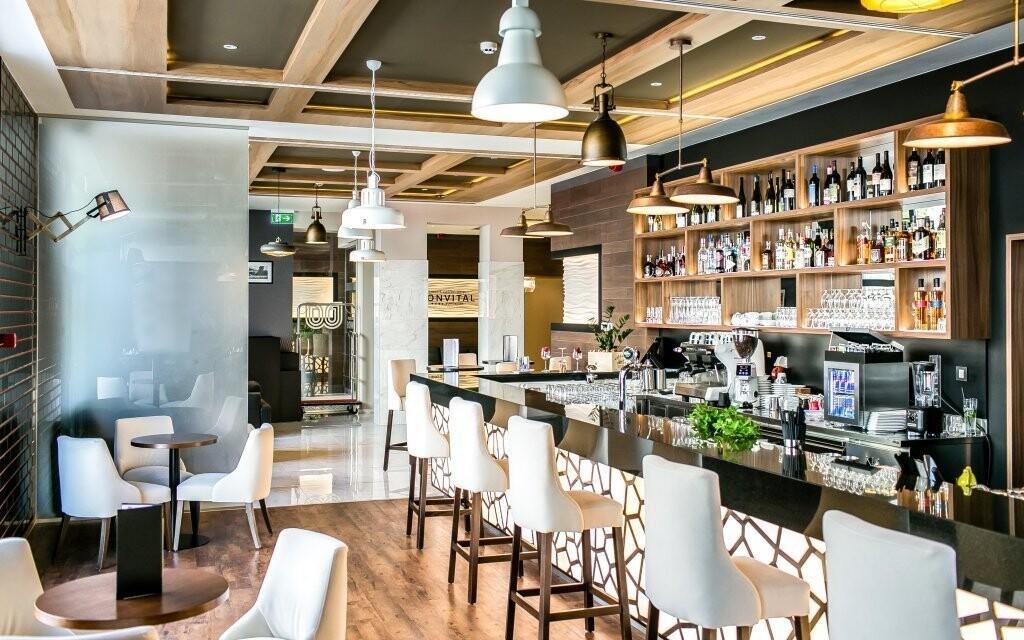 Bistro v Bonvital Wellness & Gastro Hotelu **** Maďarsko