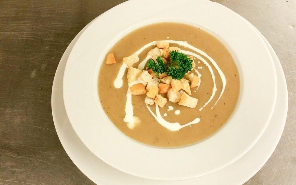 Polévka polopenze Horský hotel Vidly **** Jeseníky