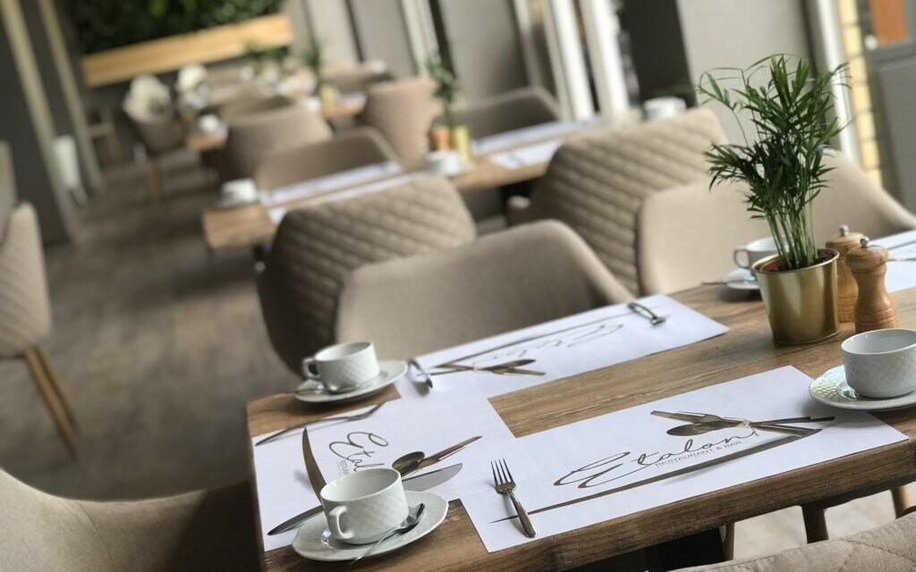 Reštaurácia Hotela Tiliana **** v Budapešti Maďarsko