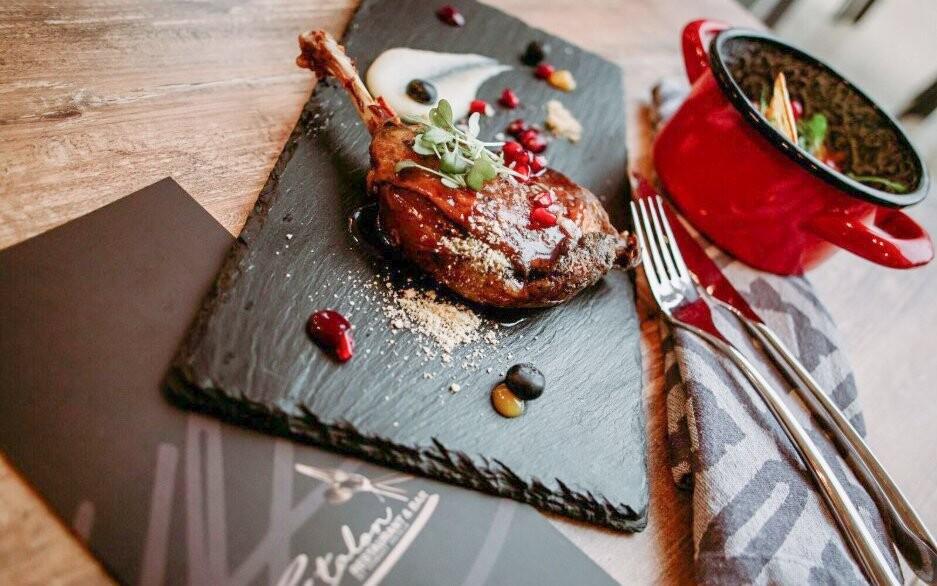 Výborná kuchyňa v reštaurácii Hotela Tiliana **** Budapešt