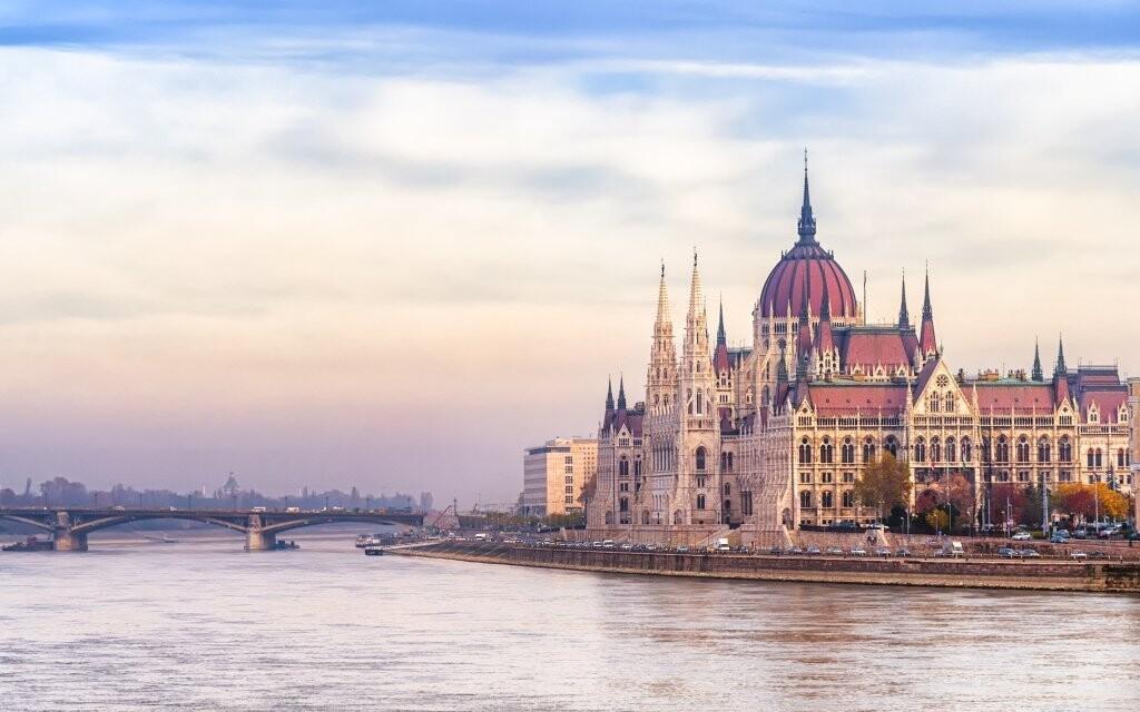 Budova parlamentu Budapešť Maďarsko